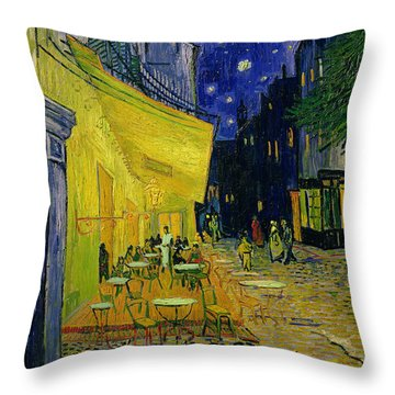 French Cafe Throw Pillows