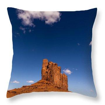 Camel Butte Throw Pillow