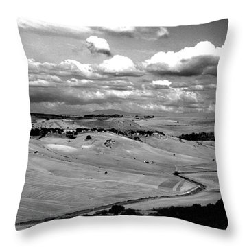 Country Of Tarquinia Throw Pillow