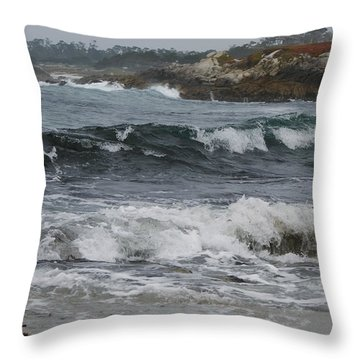 Carmel Original Photo Throw Pillow by Ernie Echols