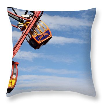 Carousel Twist Throw Pillow
