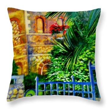 'casa At Radda' Throw Pillow