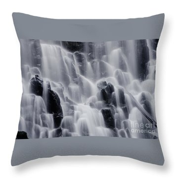 The Land Of Tumbling Waters Throw Pillow