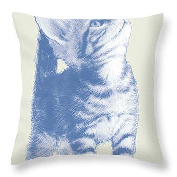 Kitten Throw Pillows