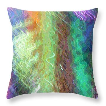 Celeritas 38 Throw Pillow