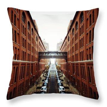 Chelsea Symmetry Throw Pillow