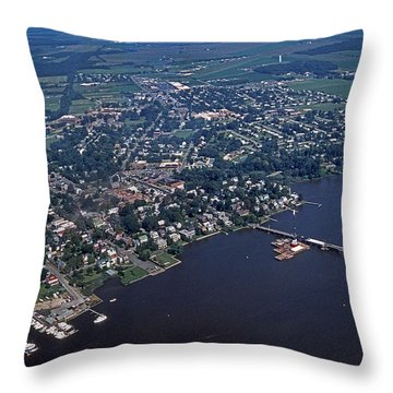 Chestertown Maryland Throw Pillow
