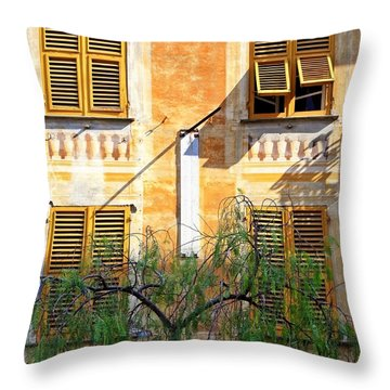 Chiavari Windows Throw Pillow