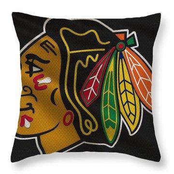 Chicago Blackhawks Uniform Throw Pillow
