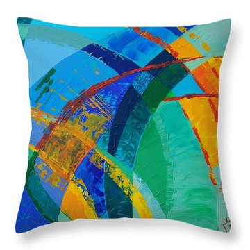 Choices Throw Pillow by Linda Bailey