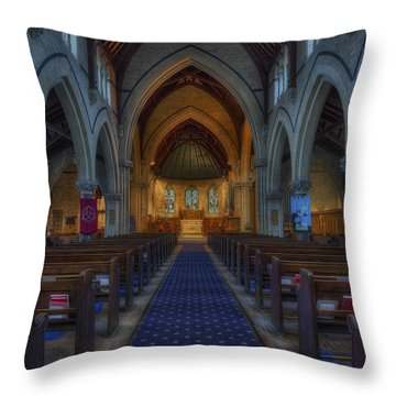 Church Of Our Saviour Throw Pillow by Ian Mitchell