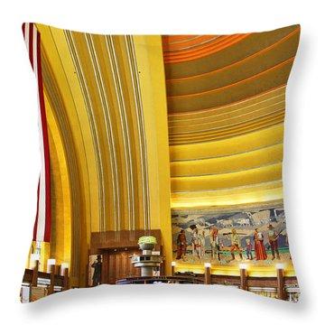 Cincinnati Museum Center At Union Terminal 0018 Throw Pillow