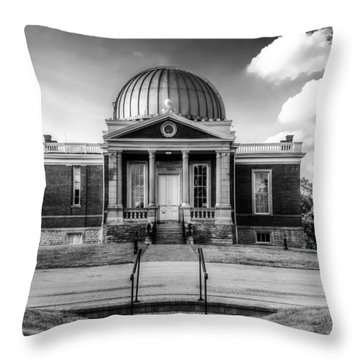 Cincinnati Observatory Throw Pillow
