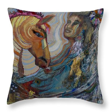 Civilization Throw Pillow