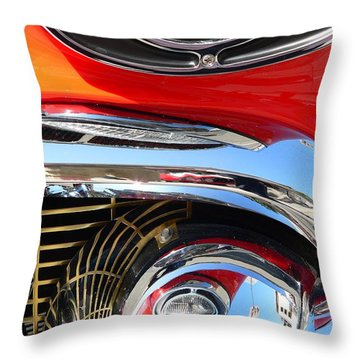 Throw Pillow featuring the photograph Classic Car As Art by Jeff Lowe