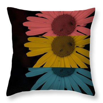 Closer Throw Pillow by Holley Jacobs