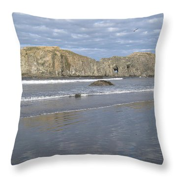 Elephant Rock Blues Throw Pillow