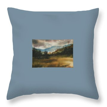 Clouds And Sunlight Throw Pillow