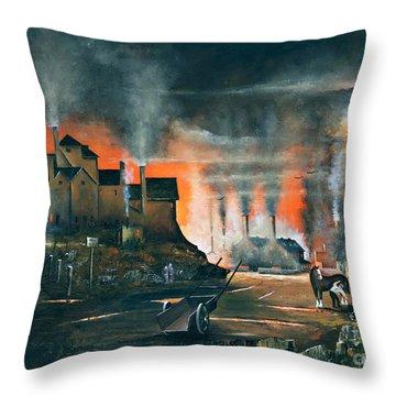 Coalbrookdale Throw Pillow