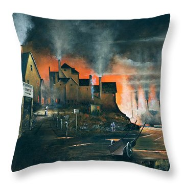 Coalbrookdale Throw Pillow