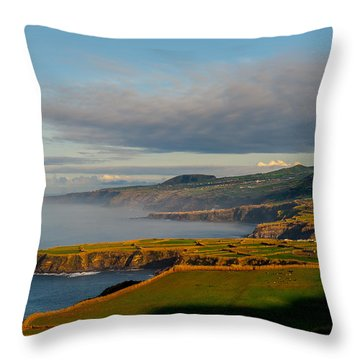 Coast Of Heaven Throw Pillow