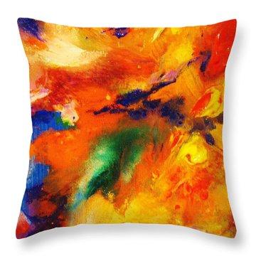 Colors 12-5 Throw Pillow