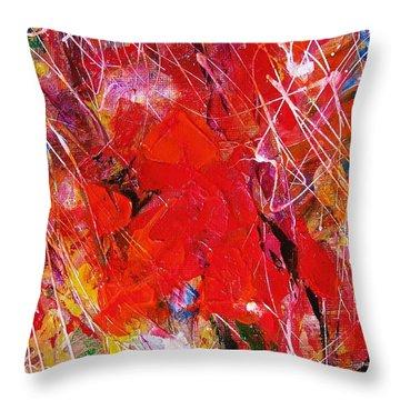 Colors 15-6 Throw Pillow