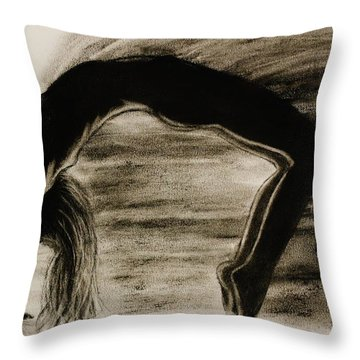 Coming Apart 6 Throw Pillow by Michael Cross