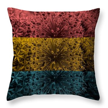 Throw Pillow featuring the digital art Common People by Holley Jacobs