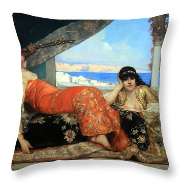 Constant's The Favorite Of The Emir Throw Pillow