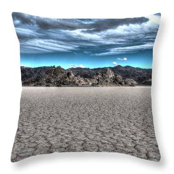 Cool Desert Throw Pillow