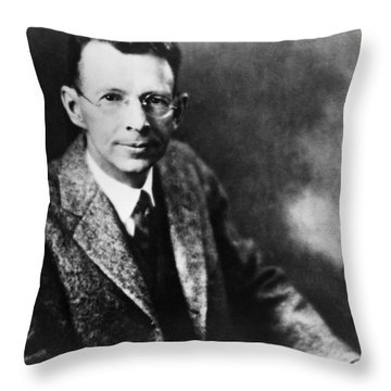 Coolidge X-ray Tube Inventor Throw Pillow