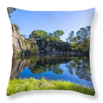 Copp's Quarry Throw Pillow
