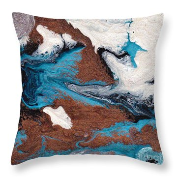 Cosmic Blend One Throw Pillow