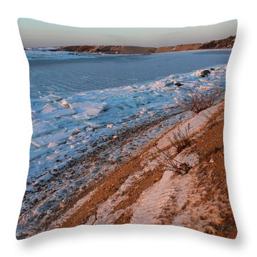 Cove Belle Terre New York Throw Pillow