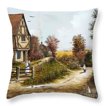 Cropthorne - Worcester Throw Pillow