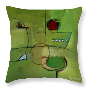 Cruising Throw Pillow by Michelle Abrams
