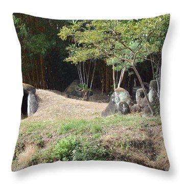 Cueva Throw Pillow