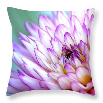 Dahlia Throw Pillow by Deena Stoddard