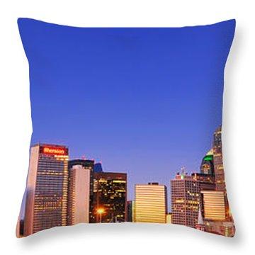 Dallas At Dawn Throw Pillow