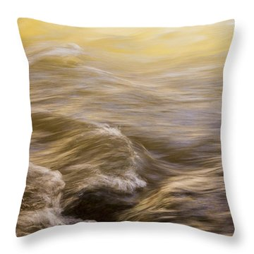 Dance Of Water And Light Throw Pillow