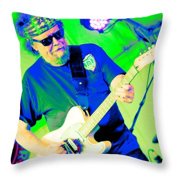 Dave Nelson Throw Pillow by Jesse Ciazza