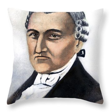 David Brearley (1745-1790) Throw Pillow by Granger