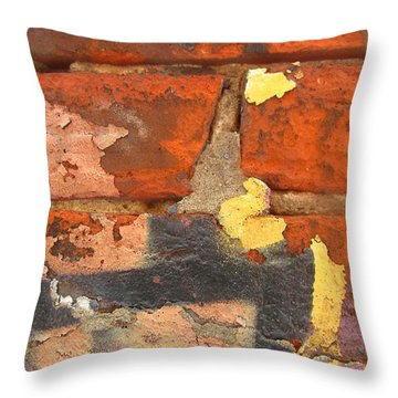 Decay Beauty Throw Pillow by Alfred Ng