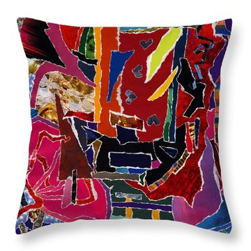 Definitively Every Direction Throw Pillow