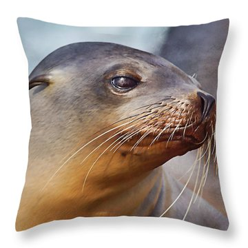 Demure Throw Pillow