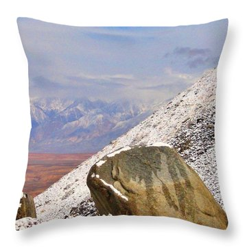 Depth Throw Pillow