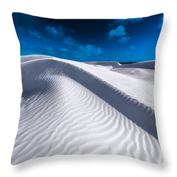 Desert Sands Throw Pillow