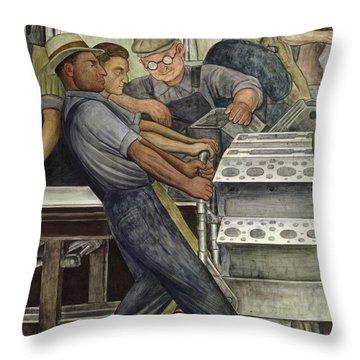 Industrial Throw Pillows