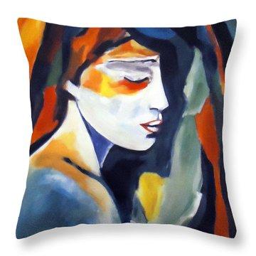 Devotional Journey Throw Pillow by Helena Wierzbicki
